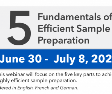 Five Fundamentals for Efficient Materials Sample Preparation'
